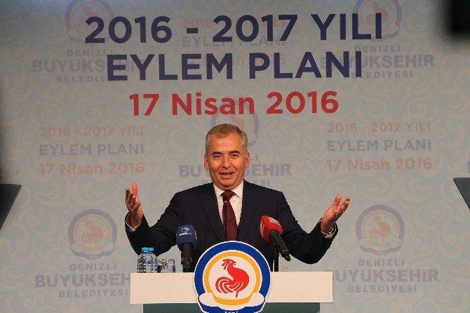 Başkan Zolan'dan 121 Dev Proje