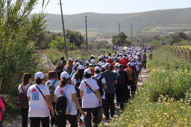 Didim'de Kutsal Yol Yürüyüşüne Büyük İlgi