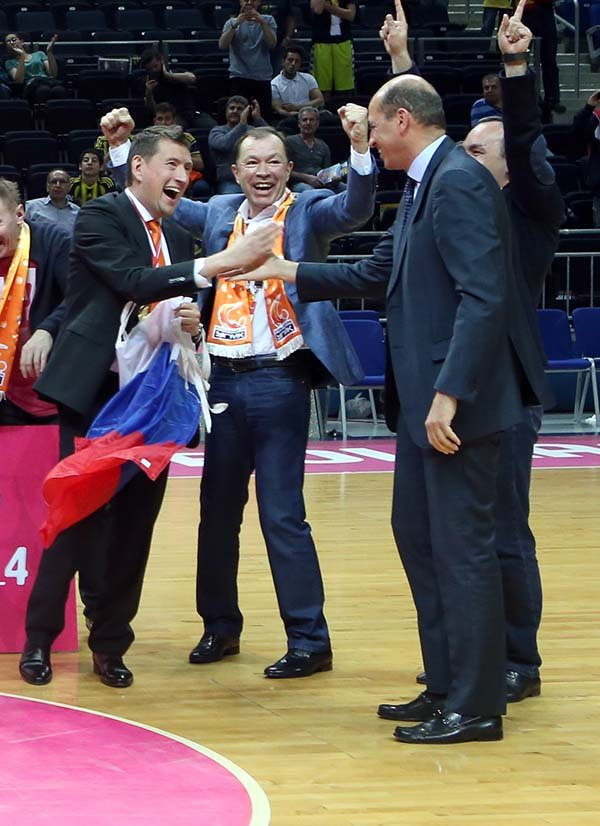 Euroleague Final Four'un şampiyon Ekaterinburg