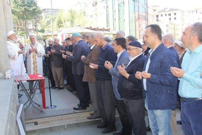 Şehit Polis İçin Rize'de Gıyabi Cenaze Namazı