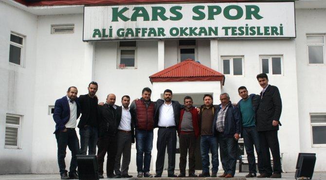 Karsspor yönetimi: Kars spor şehri olsun