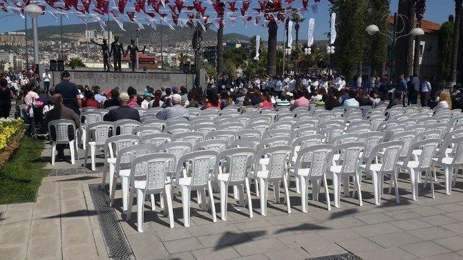 Turizm Haftasında Davetlilere Ayrılan Sandalyeler Boş Kaldı