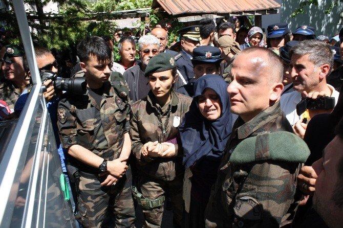 Şehit Özel Hareket Polisi İnan, Son Yolculuğuna Uğurlandı