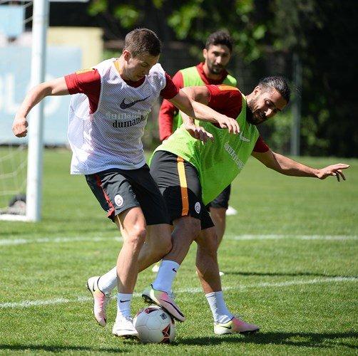 Moralsiz Galatasaray'da gözler kupa maçına çevrildi