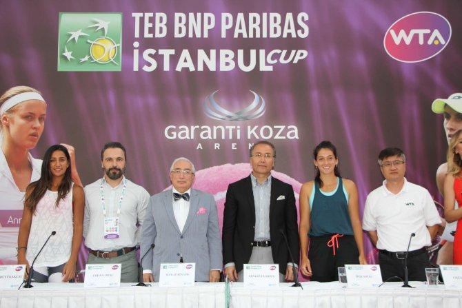 TEB BNP Paribas İstanbul Cup'ta kurayı halk çekti