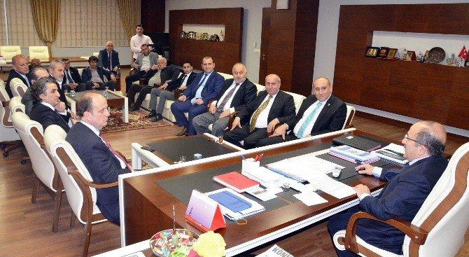 Gençlik Ve Spor Genel Müdürü Baykan'dan, Başkan Gümrükçüoğlu'na Ziyaret