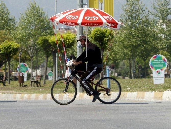 Tekerlekli Şemsiye...
