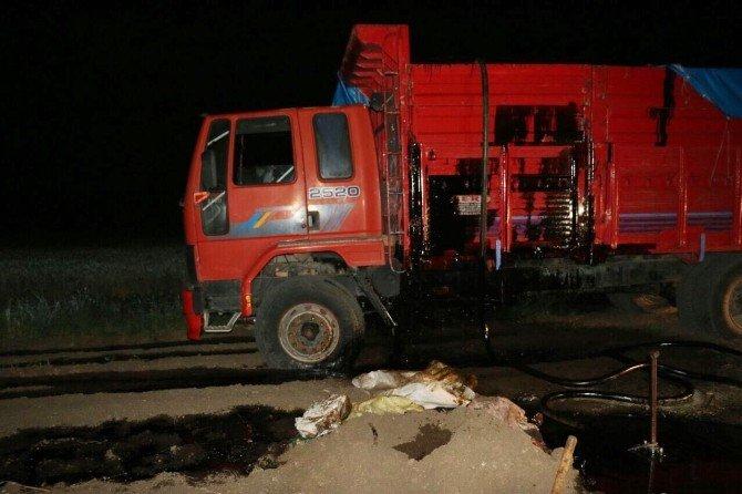Petrol Boru Hattında Hırsızlığı Polis Önledi