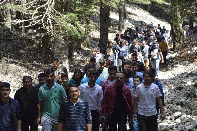 AK Parti'li Gençlerden Doğa Yürüyüşü