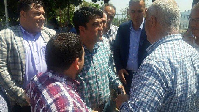 AK Parti'li Ercik Köyleri Ziyaret Etti