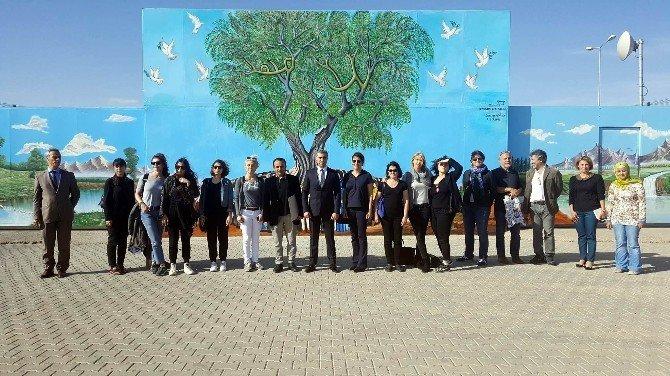 Aralık Gönüllü Eğitim Ve Kültürel Araştırmalar Derneği Merkezimizi Gezdi