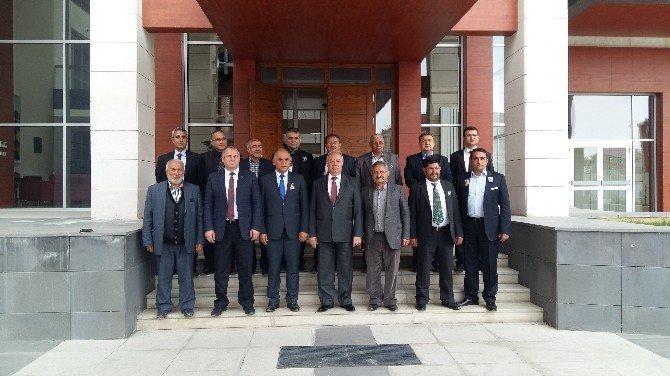 ASİMDER'den Başkonsolos Erşen'e Ziyaret