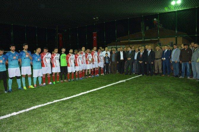 Bafra'da 1. Çeltik Halı Saha Turnuvası Başladı