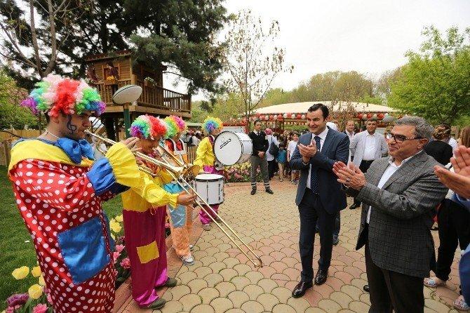 Gaziantep Botanik Bahçesine Akın Etti