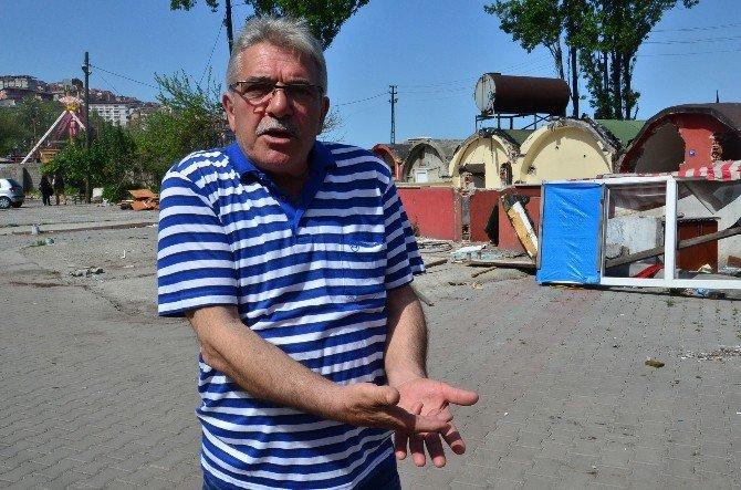 Zonguldak'ta Balıkçı Kulübelerinin Yıkımı Sürüyor