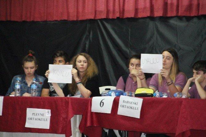 Babaeski'de Kelime Türetme Yarışması Düzenlendi