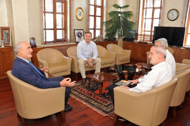 Trans Anatolia Organizasyon Heyeti, Başkan Yılmaz'ı Ziyaret Etti