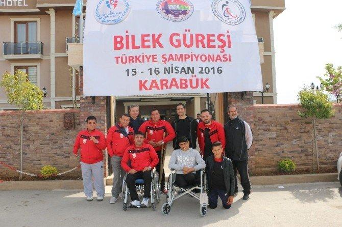 Şanlıurfa Bilek Güreşi Takımından Türkiye Derecesi