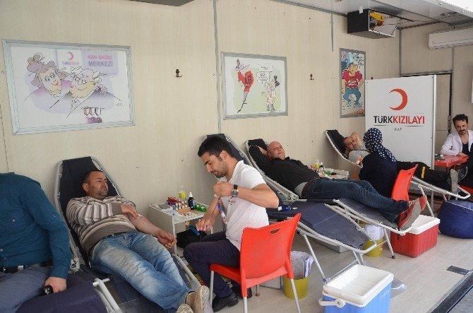 Ereğli Belediyesi'nden Kan Bağışı Kampanyası