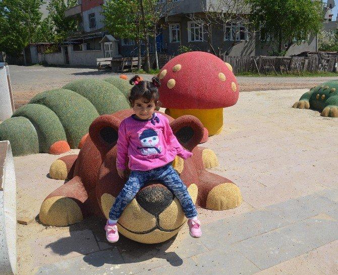 Ergene Belediyesi`nin Masal Parkı