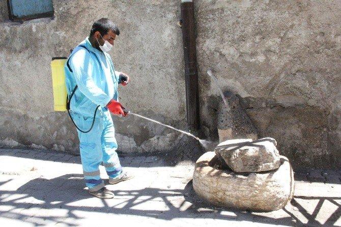 Eyyübiye Belediyesi İlaçlama Çalışmalarını Sürdürüyor