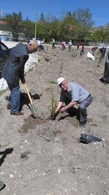 Bosder Üyeleri Memleketlerinde Hatıra Ormanı Oluşturdu