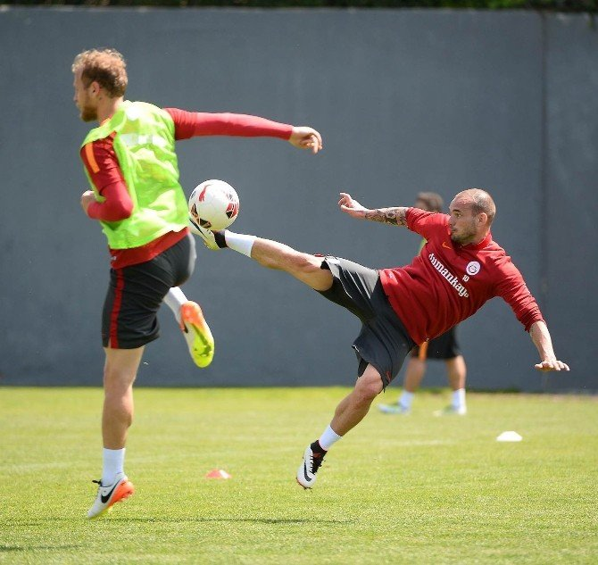 Galatasaray'da Kupa Mesaisi Devam Ediyor