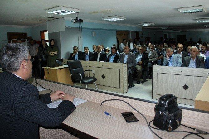 Kdz. Ereğli'de Köye Dönüş Projesi Anlatıldı