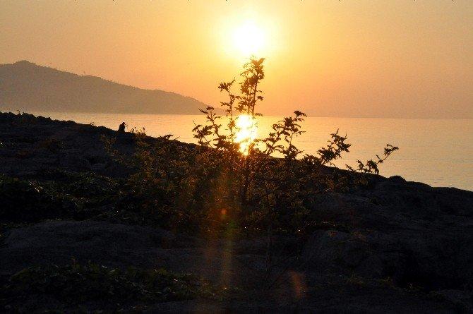 Giresun'da Gün Batımı Manzaraları