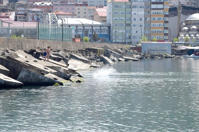 Giresun'da Deniz Sezonu Açıldı