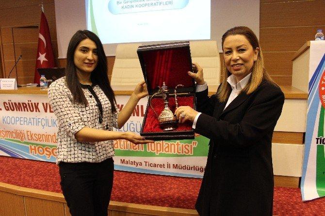 Malatyalı Kadın Girişimcilere Kooperatifçilik Anlatıldı