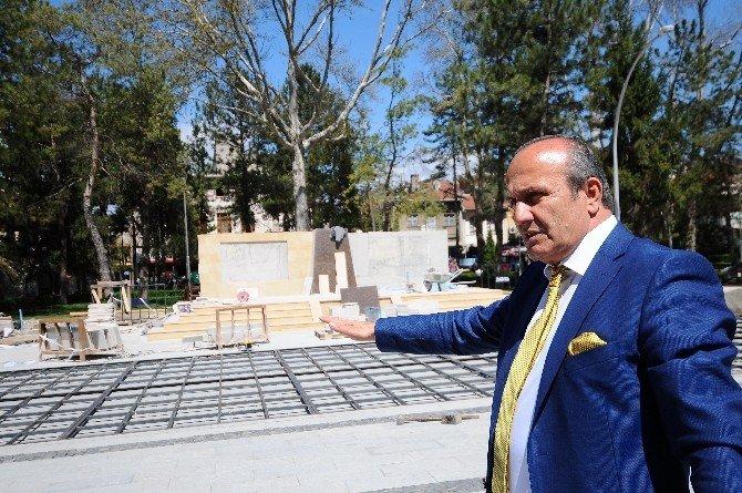 """Başkan Arslan: """"Taşköprü Sarımsağı Dünya Markası Olacak"""""""