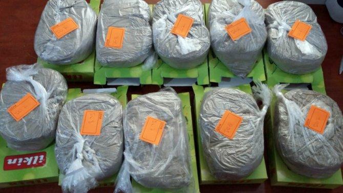 Azerbaycan'da 500 kilogram eroin ele geçirildi