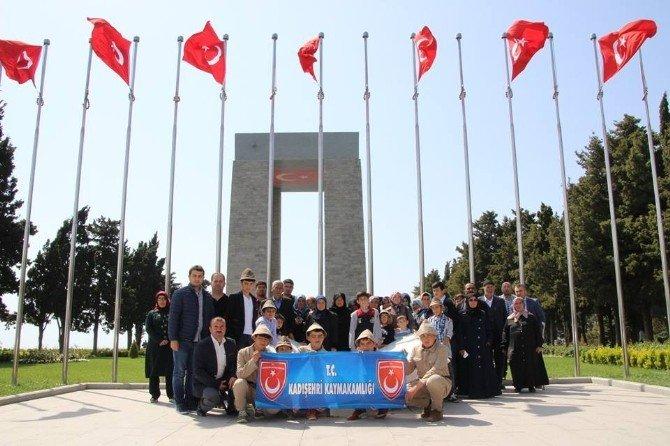Kadışehri İlçesinden Çanakkale'ye Gezi