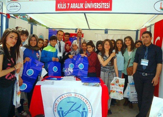 Kilis 7 Aralık Üniversitesinde Şanlıurfa Kariyer Günlerinde