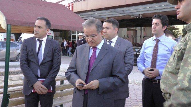 """Kilis Valisi Tapsız: """"TSK Bu Yerleri İmha Ediyor"""""""