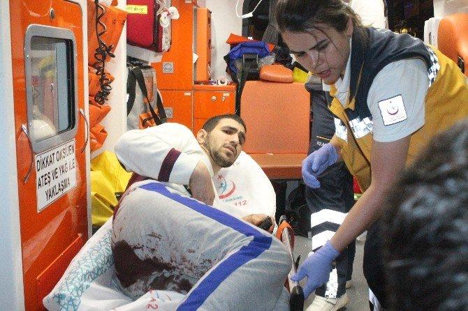 Konya'da Suriyelilerin Kavgası Kanlı Bitti: 1 Yaralı