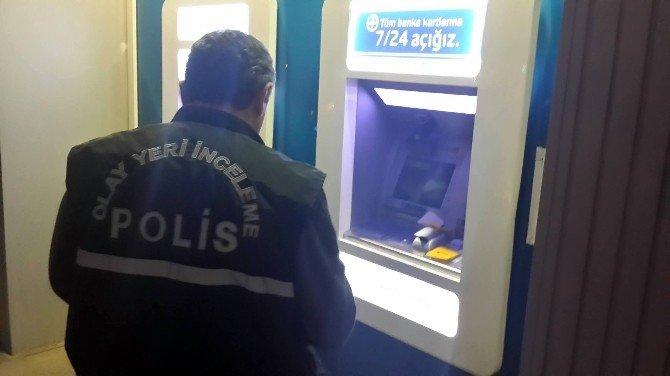 Malatya'da Banka Atm'sinde Düzenek Bulundu