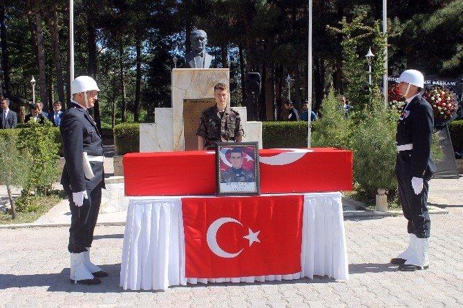 Bingöllü Şehit Polis İçin Mardin'de Tören Düzenlendi