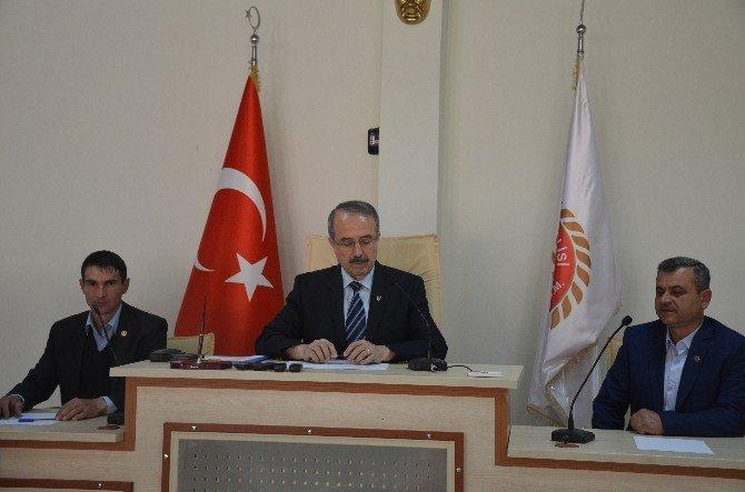Köylere Hizmet Götürme Birliği Toplantısında Yeni Encümen Üyeleri Seçildi