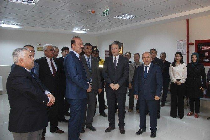 Osmancık Adalet Sarayı'nda PTT Şubesi Açıldı