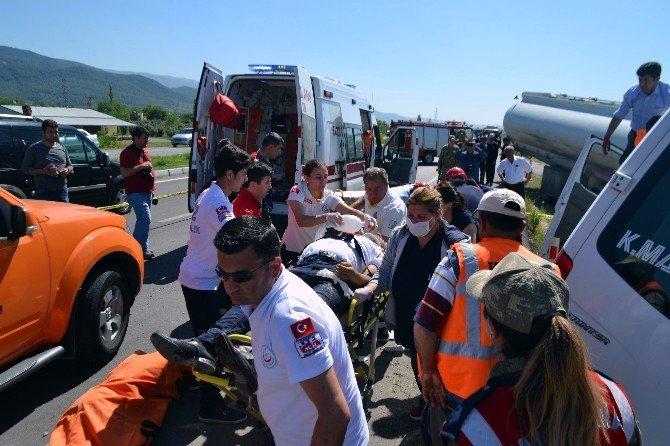 Osmaniye'de Trafik Kazası: 3 Ölü, 11 Yaralı