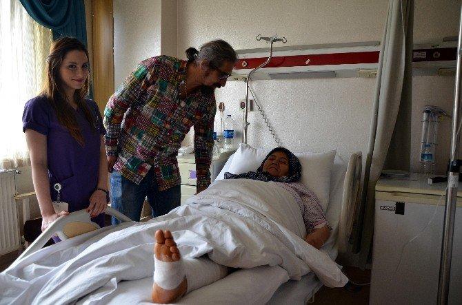 65 Yaşındaki Hastaya Ayak Bilek Protezi Takıldı