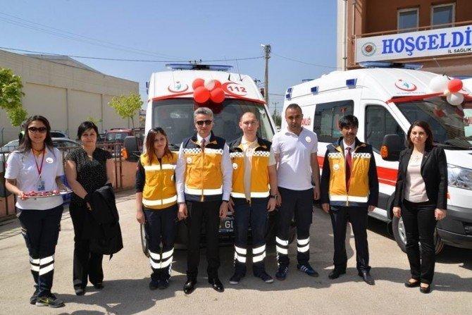 Bolu'da 8 Ambulans Hizmete Girdi