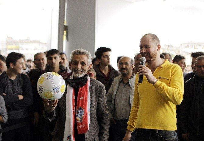 'Turkcell Haftanın Maçı' Sivas'ta Oynandı