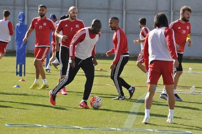 Medicana Sivasspor, Medipol Başakşehir Maçı Hazırlıklarına Başladı