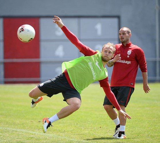 Galatasaray'da Çaykur Rizespor hazırlıkları devam ediyor