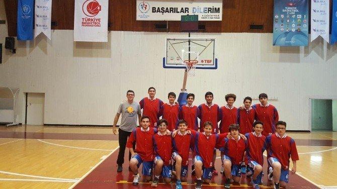 Özel Hatem Lisesi Liseler Arası Basketbol Bölge Müsabakalarında Bir Galibiyet İle Döndü