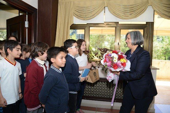 Öğrencilerden Kışanak'a Ziyaret