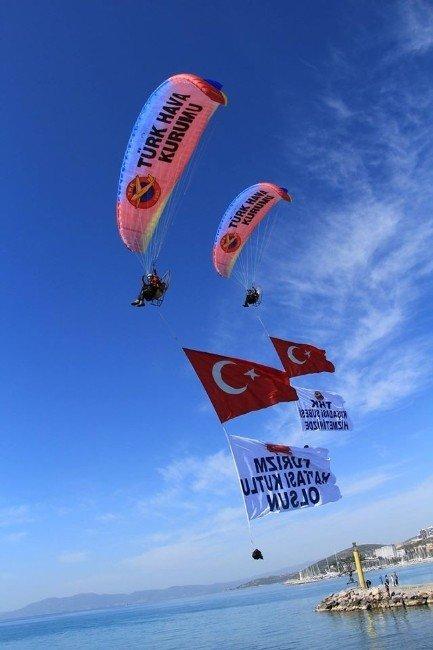 THK, Aydın'daki Turizm Haftası Kutlamalarına Damga Vurdu